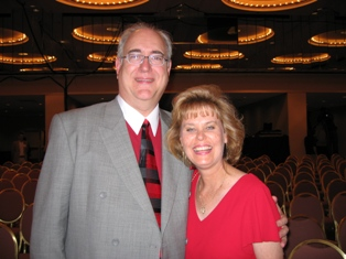 Leigh and her Husband